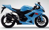 Suzuki GSX-R 1000 2008 - Blaue Version - Dekorset
