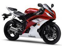 Yamaha YZF-R6 RJ15 2009 - Rot/Weiße Version - Dekorset
