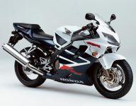 Honda CBR 600 F4 Sport 2002 - Weiß/Dunkelblau Version - Dekorset
