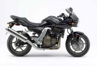 Kawasaki Z 750S 2006 - Schwarze Version - Dekorset