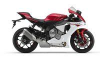 Yamaha YZF-R1 RN22 2015 - Weiß/Rote Version - Dekorset