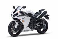 Yamaha YZF-R1 RN22 2010 - Weiße Version - Dekorset
