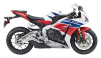 Honda CBR 1000RR 2013 - HRC US Version - Dekorset