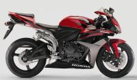 Honda CBR 600RR 2008 - Rote Version - Dekorset