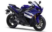 Yamaha YZF-R1 RN22 2011 - Blau/Schwarze Version - Dekorset