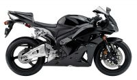 Honda CBR 600RR 2011 - Schwarze Version - Dekorset