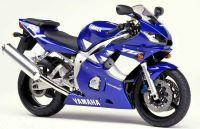 Yamaha YZF-R6 RJ03 1999 - Blaue Version - Dekorset