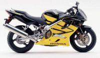 Honda CBR 600 F4i 2003 - Gelbe Version - Dekorset