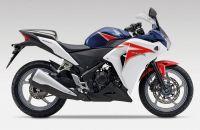 Honda CBR 250R 2012 - Weiß/Blaue Version - Dekorset
