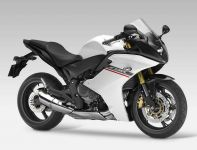Honda CBR 600 F 2012 - Weiß/Schwarze Version - Dekorset