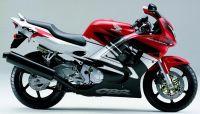 Honda CBR 600 F3 1997 - Rot/Weiß/Schwarze Version - Dekorset