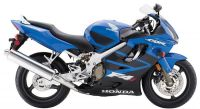 Honda CBR 600 F4i 2005 - Blaue Version - Dekorset