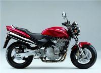 Honda CB 600F Hornet 1998 - Rote Version - Dekorset