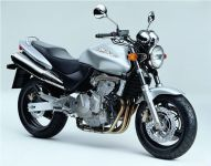 Honda CB 600F Hornet 1998 - Silber Version - Dekorset