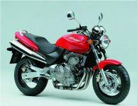 Honda CB 600F Hornet 1999 - Rote Version - Dekorset