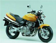 Honda CB 600F Hornet 1999 - Gelbe Version - Dekorset