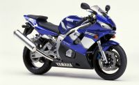 Yamaha YZF-R6 RJ03 2001 - Blue Version - Decalset