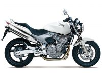 Honda CB 600F Hornet 2002 - Weiße Version - Dekorset