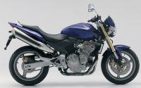 Honda CB 600F Hornet 2004 - Dunkelblaue Version - Dekorset