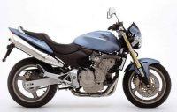 Honda CB 600F Hornet 2004 - Blaue Version - Dekorset