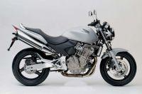 Honda CB 600F Hornet 2005 - Silber Version - Dekorset