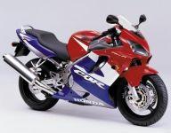 Honda CBR 600 F4 2001 - Rot/Blau/Weiß Version - Dekorset