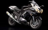 Kawasaki ZZR 1400 ABS 2010 - Schwarz/Graue Version - Dekorset
