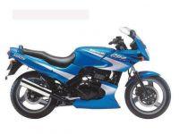 Kawasaki GPZ 500S 1996 - Blau/Silber Version - Dekorset