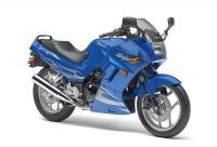 Kawasaki 250R Ninja 2007 - Blaue Version - Dekorset
