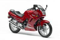 Kawasaki 250R Ninja 2007 - Rote Version - Dekorset