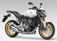 Honda CB 600F Hornet 2013 - Weiße Version - Dekorset