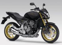 Honda CB 600F Hornet 2012 - Schwarze Version - Dekorset