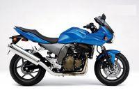 Kawasaki Z 750S 2005 - Blaue Version - Dekorset