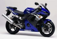 Yamaha YZF-R6 RJ05 2003 - Blue Version - Decalset