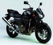 Kawasaki Z 750 2005 - Schwarze Version - Dekorset