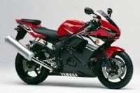 Yamaha YZF-R6 RJ05 2003 - Rote Version - Dekorset
