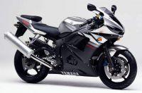 Yamaha YZF-R6 RJ05 2003 - Silber Version - Dekorset