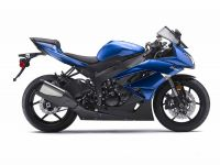 Kawasaki ZX-6R 2009 - Blaue Version - Dekorset