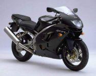 Kawasaki ZX-9R 1999 - Schwarze Version - Dekorset