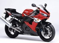 Yamaha YZF-R6 RJ09 2004 - Rote Version - Dekorset