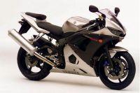 Yamaha YZF-R6 RJ09 2004 - Silber Version - Dekorset