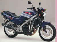 Honda VFR 400K 1991 - Dunkelblaue Version - Dekorset
