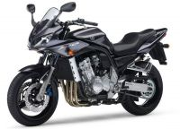 Yamaha FZS1000 Fazer 2005 - Titangrau Version - Dekorset