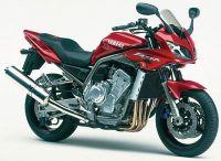 Yamaha FZS1000 Fazer 2001 - Rote Version - Dekorset
