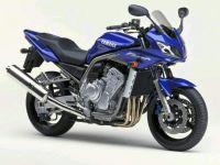 Yamaha FZS1000 Fazer 2002 - Blaue Version - Dekorset