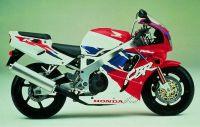 Honda CBR 900RR 1995 - Rot/Weiß/Lila Version - Dekorset