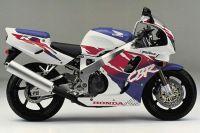 Honda CBR 900RR 1994 - Weiß/Lila/Rote Version - Dekorset