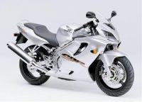Honda CBR 600 F4 1999 - Silber Version - Dekorset