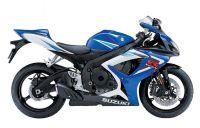 Suzuki GSX-R 750 2006 - Weiß/Blaue Version - Dekorset