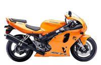 Kawasaki ZX-7R 2003 - Orange Version - Dekorset